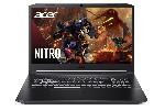 "Acer Nitro 5, AN517-54-71J8, Core i7-11800H (2.3GHz up to 4.6GHz, 24MB), 17.3"" QHD IPS 165Hz, 16GB DDR4 3200MHz (1 slot free), 1024GB NVMe SSD, HDD Kit, RTX 3060 6GB GDDR6, Cam&Mic., Wi-Fi 6ax, BT 5.1, RGB Backlit kbd, No OS, Black"