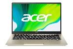 """Acer Swift 3X, SF314-510G-538Y, Intel Core i5-1135G7 (up to 4.2Ghz, 8MB), 14"""" FHD IPS NarrowBoarder, HD Cam, 8GB DDR4, 512GB PCIe SSD, Intel DG1, TPM, Wi-Fi 6ax, BT, KB Backlight, FPR, Win 10 Pro, Black/Gold"""