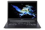 "Acer TravelМate, TMX514-51-78L8, Intel Core i7-8565U (up to 4.60GHz, 8MB), 14"" FullHD IPS (1920x1080) AG, HD Cam, 8GB DDR4, 512GБ NVMe SSD, Intel UHD 620 , 802.11ac, BT 4.2, MS Win10 Pro, <1 Kg, Steel Grey"