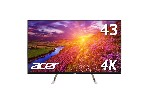 "Acer ET430Kwmiiqppx, 43"", 3840x2160, 60Hz, IPS, 10bit, Anti-Glare, 5ms, 350 cd/m2, 2xHDMI, DP, miniDP, DP Out, Audio Out, Speakers 2x7W, BlueLight Shield, PIP/PBP, White"