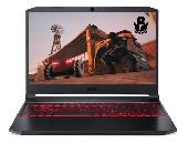 """Acer Nitro 5, AN515-57-70QZ, Intel Core  i7-11800H, 15.6"""" FHD (1920x1080) IPS 144Hz, HD Cam, 8GB DDR4 3200 Mhz, 512GB SSD PCIe, M.2 PCIe free, HDD upgrade kit, NVIDIA GeForce RTX 3050Ti 4GB GDDR6 , Intel Killer Wi-Fi 6 AX1650i, BT 5.2, Backlit Kbd, N"""